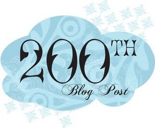 200th blog post