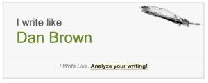 I Write Like